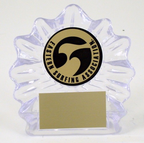 Surf Logo Small Shell Trophy-Trophies-Schoppy's Since 1921