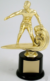 Economy Surfer Trophy on Round Base-Trophies-Schoppy's Since 1921