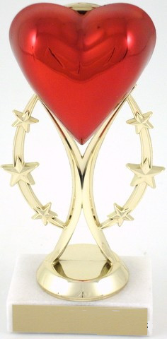 Heart Trophy on Six-Star Riser