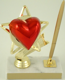 Heart Marble Penset-Pen-Schoppy's Since 1921