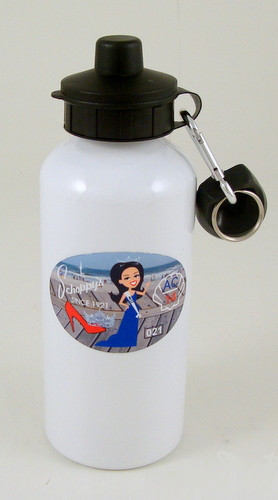 Schoppy's Parade Pin - First Edition Water Bottle