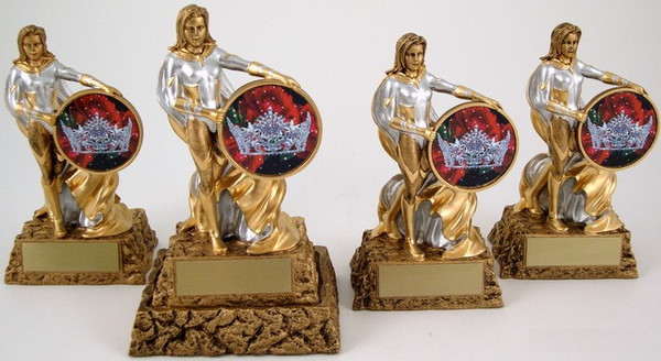Pageant Super Hero Trophy Set