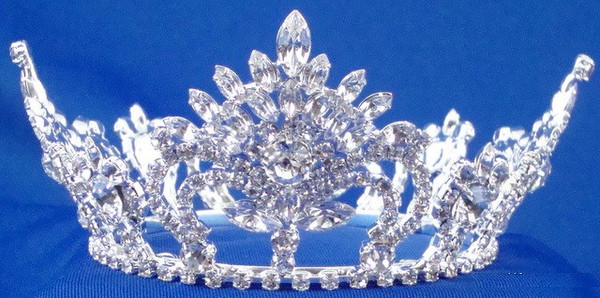Medium Sterling Silver Pageant Crown-Pageant-Schoppy's Since 1921