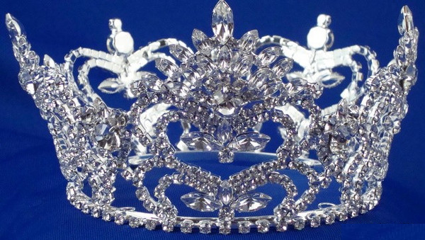 Large Sterling Silver Pageant Crown-Pageant-Schoppy's Since 1921