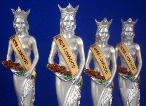 Pageant Trophies Set of Four