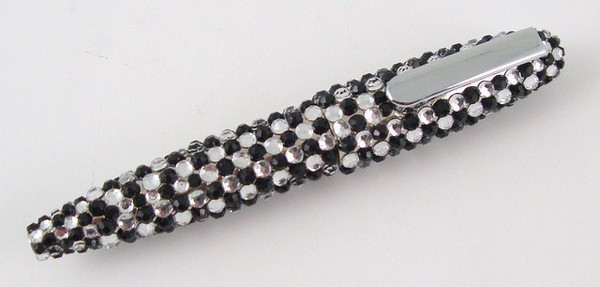 Black and Clear Crystal Pen-Pen-Schoppy's Since 1921