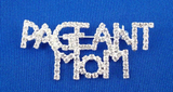Rhinestone Pageant Mom Pin-Jewelry-Schoppy's Since 1921
