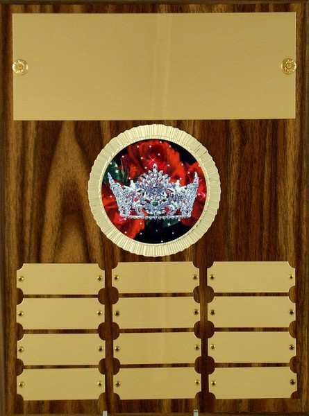 Pageant Perpetual Plaque A