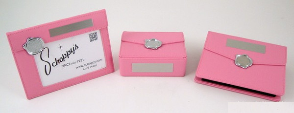 Pink Leather Gift Set-Pageant-Schoppy's Since 1921