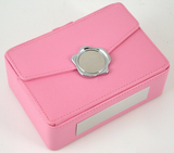Pink Leather Gift Box-Pageant-Schoppy's Since 1921