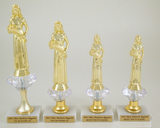 Diamond Riser Beauty Queen Trophy Set-Trophies-Schoppy's Since 1921