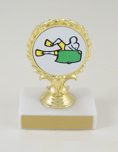 Bodyboard Logo Trophy-Trophies-Schoppy's Since 1921