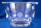 Crystal Glass Paul Revere Bowl-Tray-Schoppy's Since 1921