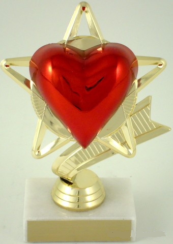 Heart Star Trophy