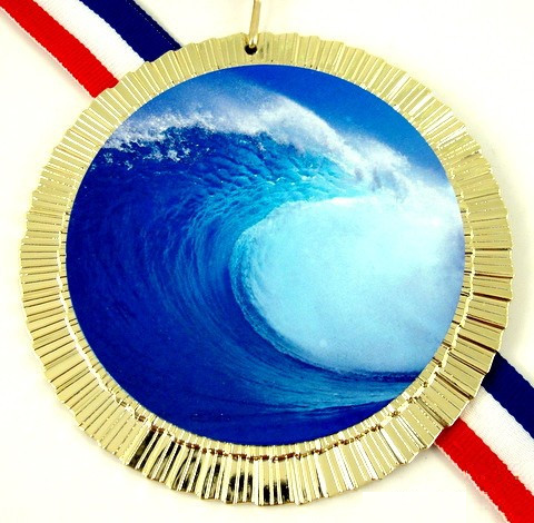 Big Wave Medal-Trophies-Schoppy's Since 1921