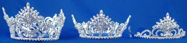 Sterling Silver Pageant Crown Set-Pageant-Schoppy's Since 1921