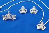 Rhinestone Crown Set-Pageant-Schoppy's Since 1921