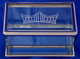 Rectangle Glass Crown Logo Box-Box-Schoppy's Since 1921