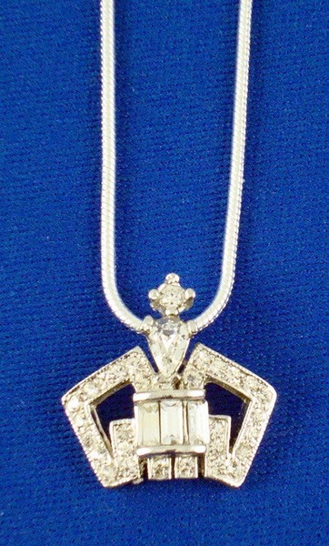 Schoppy's Crown Charm Necklace-Jewelry-Schoppy's Since 1921