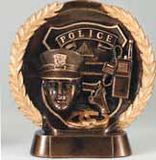 Police Resin Plate-Trophies-Schoppy's Since 1921