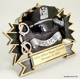 Police Stand Up Resin-Trophies-Schoppy's Since 1921