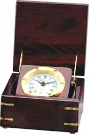 Analog Desk Clock in a Box-Clock-Schoppy's Since 1921