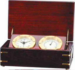 Analog Desk Clock and Thermometer-Clock-Schoppy's Since 1921