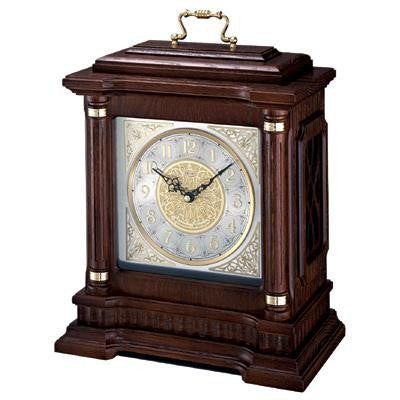 Seiko Chiming Carriage Mantel Clock QXJ004BLH-Clock-Schoppy's Since 1921