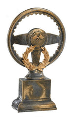 Bronze Steering Wheel Trophy-Trophy-Schoppy's Since 1921