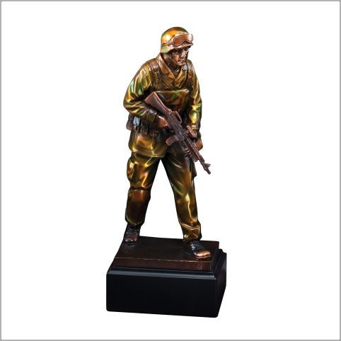 American Hero Series Military Resin-Trophy-Schoppy's Since 1921