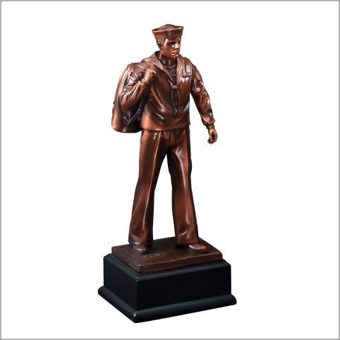 American Hero Series Navy Resin-Trophy-Schoppy's Since 1921