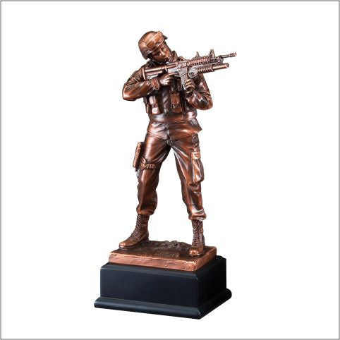 American Hero Series Army Resin