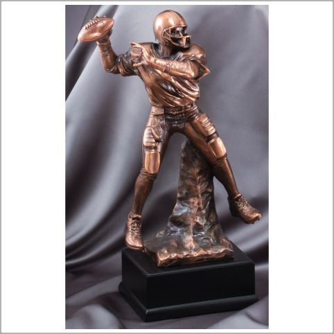 Football Pass Resin Trophy-Trophies-Schoppy's Since 1921