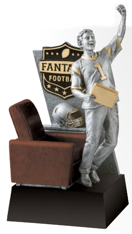Fantasy Football Champion Resin-Trophy-Schoppy's Since 1921