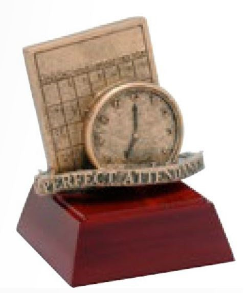 Attendance Resin Sculpture-Trophy-Schoppy's Since 1921