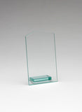 Rectangle Curved Glass Award-Glass & Crystal Award-Schoppy's Since 1921