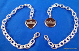 Silver Crown Logo Bracelet-Jewelry-Schoppy's Since 1921