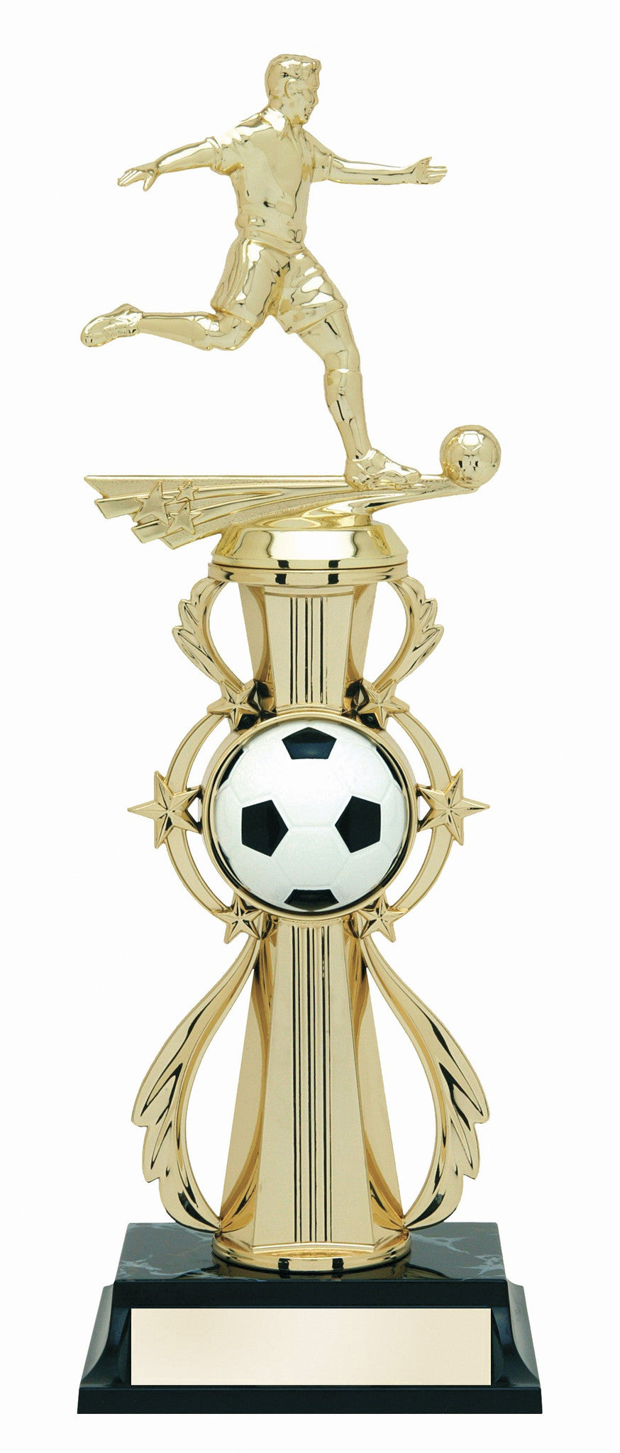 Soccer Pre-Built All-Star Trophy Male-Trophies-Schoppy's Since 1921