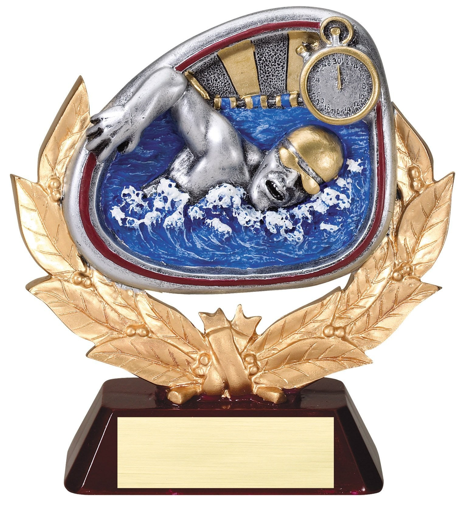 Stamford Series Swimming Award Trophy-Trophies-Schoppy's Since 1921