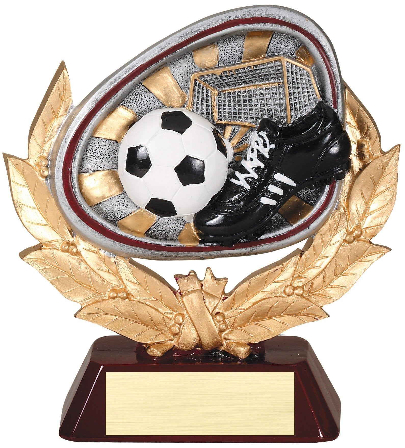 Stamford Series Soccer Award Trophy-Trophies-Schoppy's Since 1921