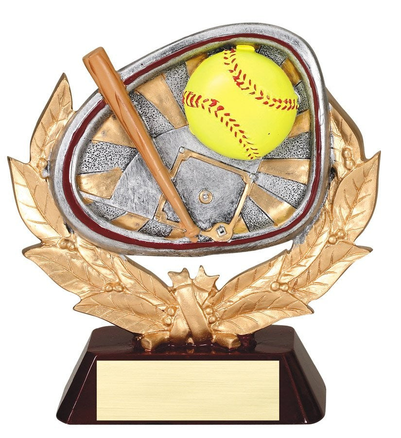Stamford Series Softball Award Trophy