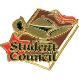 Student Council Lamp of Learning Pin-Pin-Schoppy's Since 1921