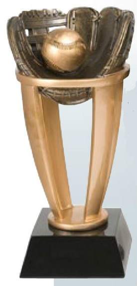 Baseball Resin Tower Trophy-Trophy-Schoppy's Since 1921