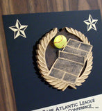 "Tennis Plaque 8"" x 10""-Plaque-Schoppy's Since 1921"