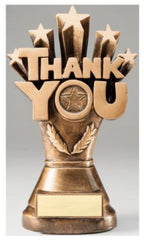 Thank You Resin Trophy-Trophy-Schoppy's Since 1921