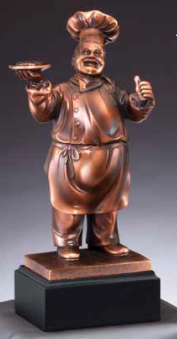 Trustworthy Chef Resin Trophy-Trophies-Schoppy's Since 1921