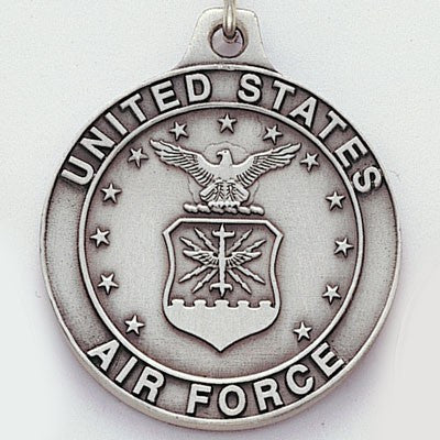 United States Air Force Sculptured Genuine Pewter Key Chain