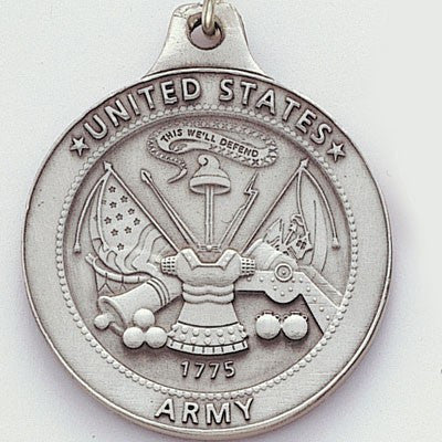 United States Army Genuine Pewter Key Chain