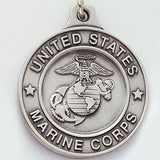 United States Marine Genuine Pewter Key Chain-Key Chain-Schoppy's Since 1921