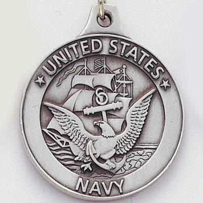 United States Navy Genuine Pewter Key Chain-Key Chain-Schoppy's Since 1921